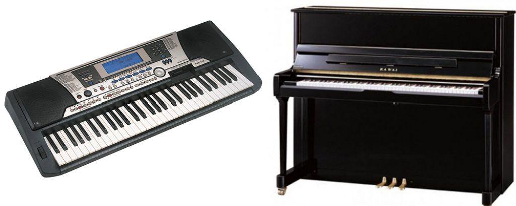 So sánh đàn organ và đàn piano ảnh 1