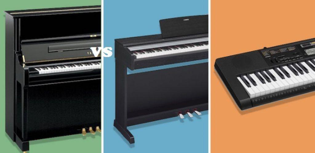 So sánh đàn organ và đàn piano ảnh 2