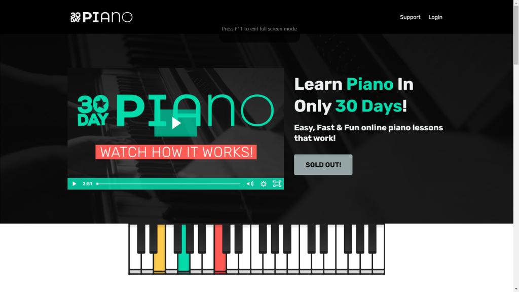 25 website học đàn piano tốt nhất thế giới ảnh 15
