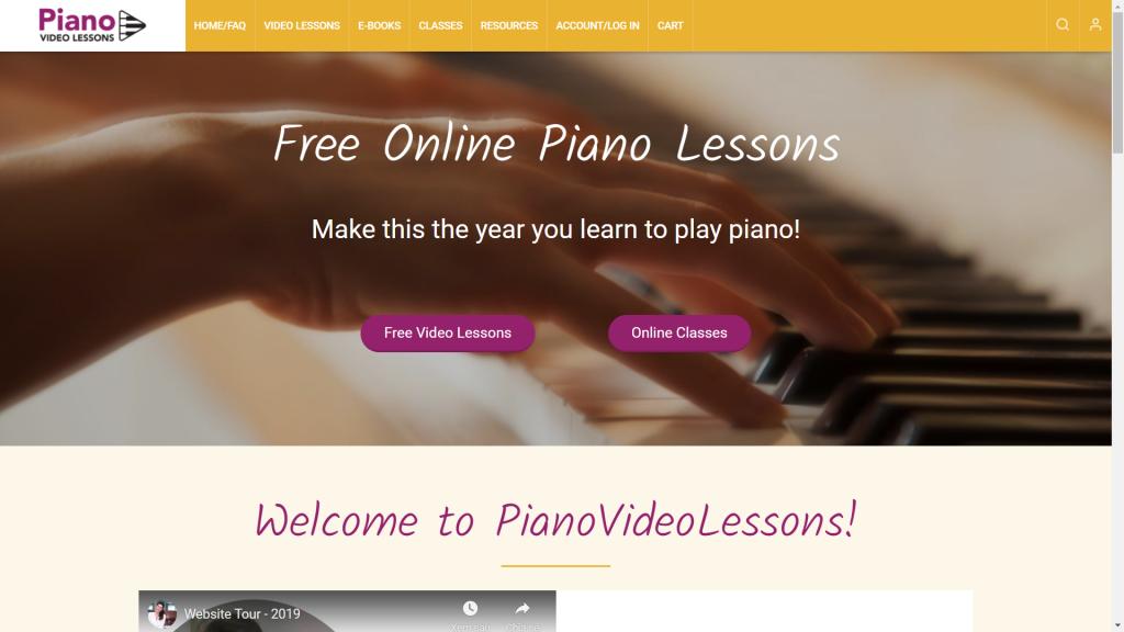 25 website học đàn piano tốt nhất thế giới ảnh 20