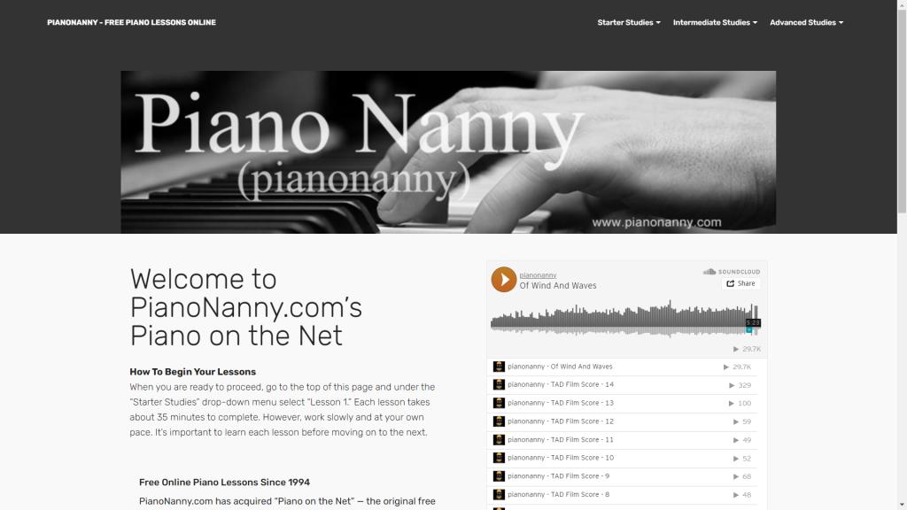 25 website học đàn piano tốt nhất thế giới ảnh 22