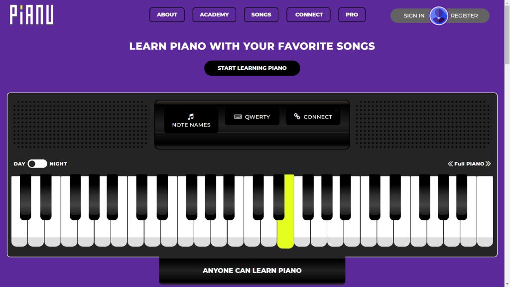 25 website học đàn piano tốt nhất thế giới ảnh 23