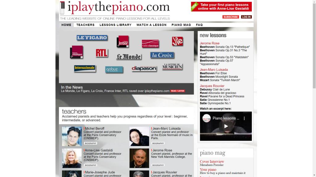 25 website học đàn piano tốt nhất thế giới ảnh 8