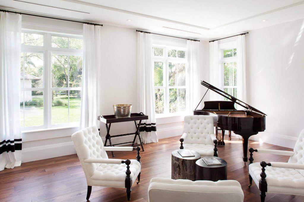 Cách bày trí đàn piano trong không gian nhà ở ảnh 1