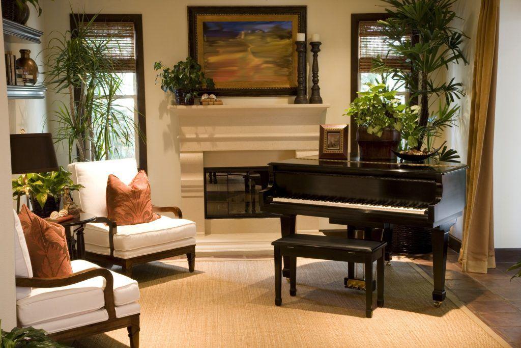Cách bày trí đàn piano trong không gian nhà ở ảnh 8