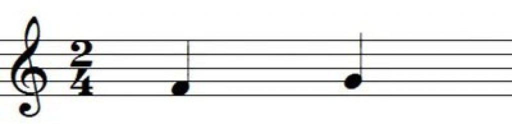 Nhịp và phách trong bản nhạc ảnh 3