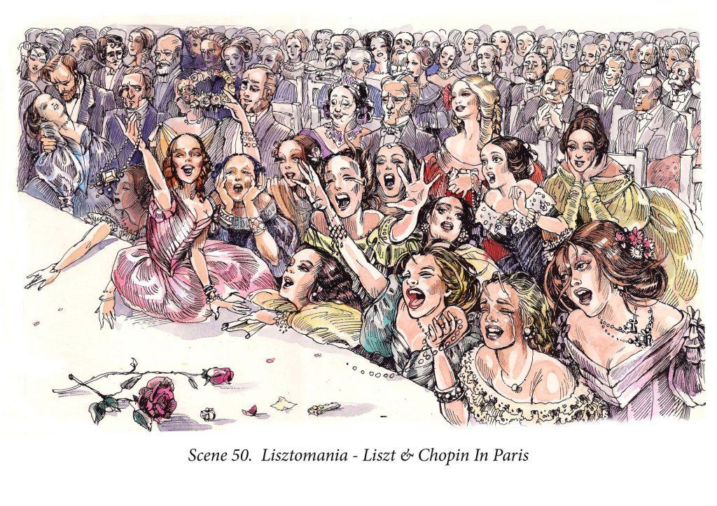 """Giải mã hội chứng Lisztomania - """"cơn sốt Liszt"""" ảnh 1"""