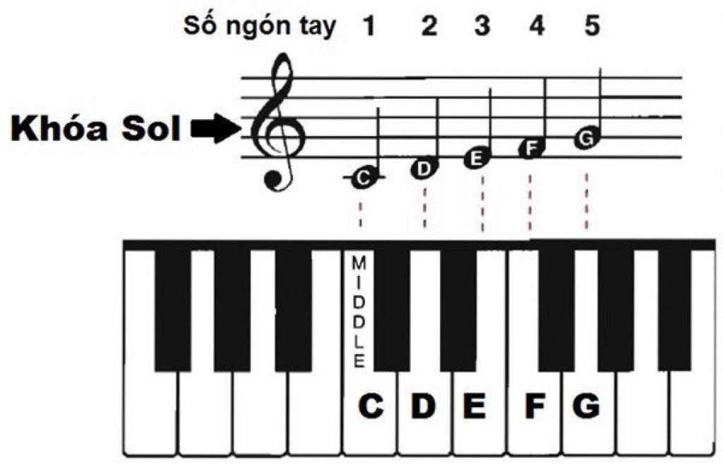 Khóa nhạc là gì? Có mấy loại khóa nhạc? ảnh 1